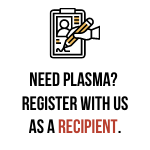 recipient request for plasma